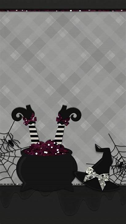 Witchy Halloween Iphone Abstract