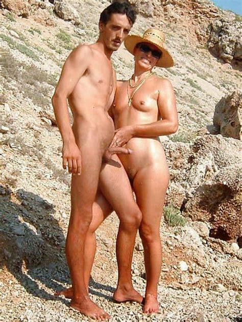 Interracial Nude Couples Erect