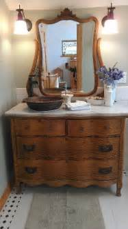 Antique Bathroom Vanity With Sink by Take Your New Bathroom And Turn Back Time To Vintage