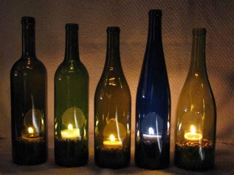 decorative wine bottles for tea light decorative wine bottle holder