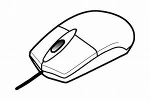 Computer Mouse Clipart Black And White – 101 Clip Art