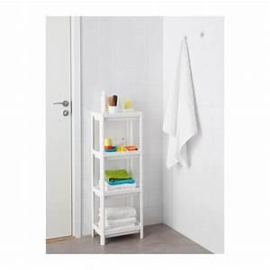 Petite Étagère Ikea : vesken tag re blanc chambre ethan tag re ikea ~ Melissatoandfro.com Idées de Décoration