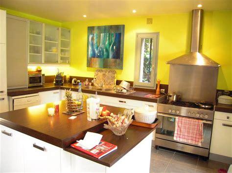 cuisine jaune déco cuisine jaune
