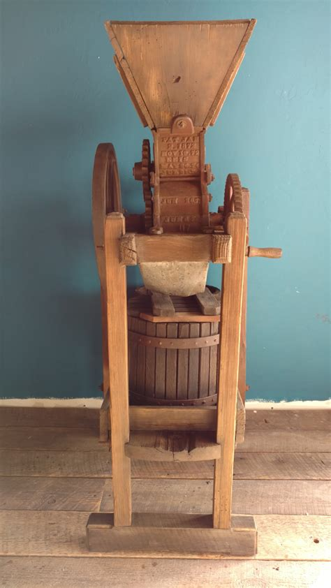 fruit chopper cider press mill ca  sold chris
