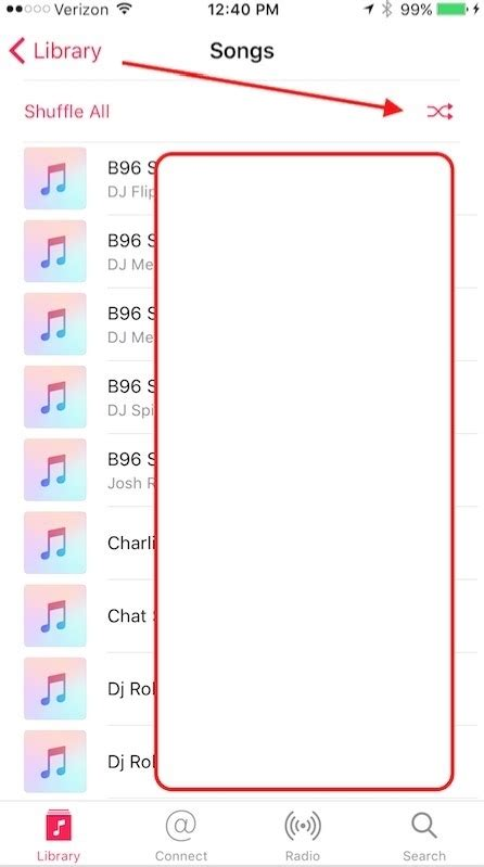 how to shuffle all songs on iphone how to shuffle songs on iphone