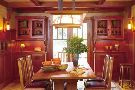 bright  cheery rooms inspired  fall colors