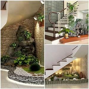 Jardin D Interieur : optimiser l 39 espace sous les escaliers avec un jardin d 39 int rieur bricolage maison ~ Dode.kayakingforconservation.com Idées de Décoration