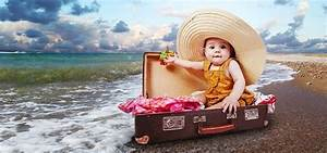Valise Enfant Fille : voyage enfant astuces et conseils pour voyager avec les enfants ~ Teatrodelosmanantiales.com Idées de Décoration
