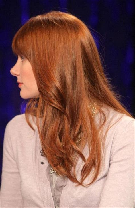 bryce dallas howard hair color hair colar  cut style