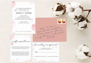 The eld guide to wedding invitation etiquette every last for Wedding invitation include registry