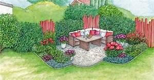 Sitzplatz Gestalten Garten : sitzplatz in der gartenecke gestalten mein sch ner garten ~ Markanthonyermac.com Haus und Dekorationen