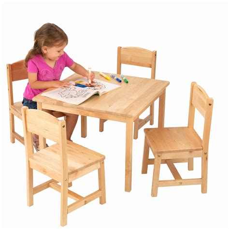 4 chair table set tables and chairs for kids best of kidkraft farmhouse