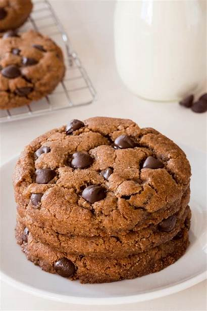 Cookies Chocolate Chip Sugar Almond Flour Vegan