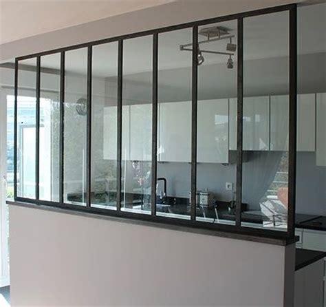 cuisine fenetre atelier menuiserie acier tradiligne fenêtre verriere cloison