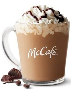 This, says buzzfeed, is one and a half times how many calories are in a mcdonald's small vanilla iced coffee? Caffeine in McDonalds (McCafe) Mocha