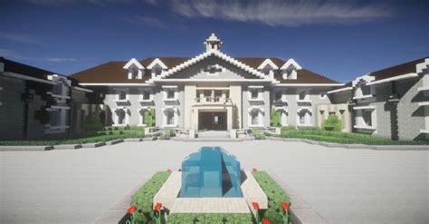 alpine mansion stone mansion minecraft project