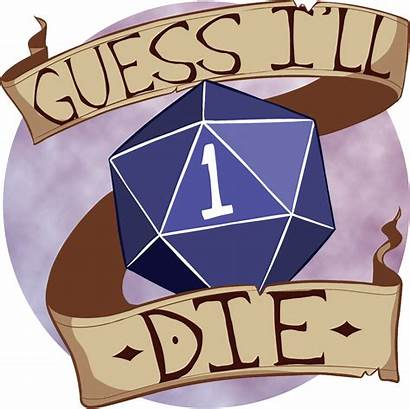 Dnd Dragons Dungeons Dice Die Guess Ll