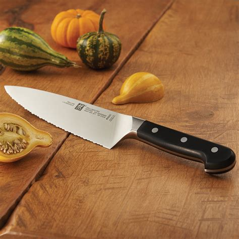 zwilling kitchen knives zwilling pro 8 quot serrated chef 39 s knife