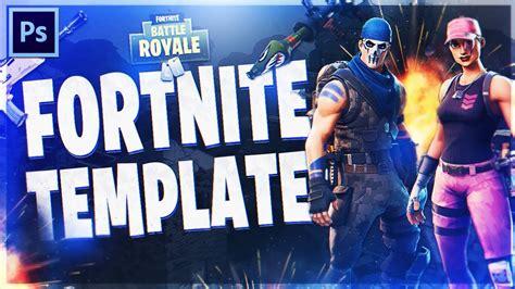 fortnite battle royale thumbnail template