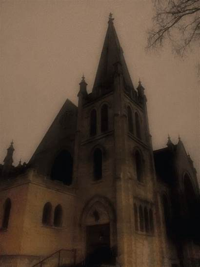 Church Creepy Halloween Lynn Joe Deviantart
