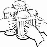 Beer Pages Coloring Cheers Drawing Mug Holiday Mugs Draw Printable Getcolorings Getdrawings sketch template