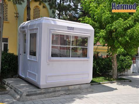 bureau préfabriqué cabine en fibre de verre modulaire prebabricated