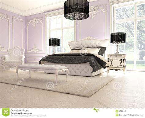 chambre a coucher de luxe intérieur d 39 une chambre à coucher classique de style dans