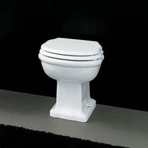 Wc Sortie Vertical : cuvette wc poser hermitage c ramique blanche vacuation ~ Premium-room.com Idées de Décoration