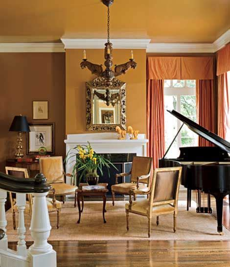 the music room at austin s pease mansion paint tawny