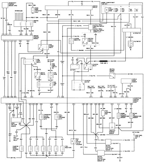 Distributor Cap Wiring Diagram by Distributor Cap Wiring Diagram 1990 Ford F150 5 0 Lt