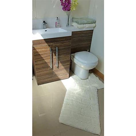 tappeti bagno cotone set tappeti da bagno 100 cotone 2 pezzi ebay