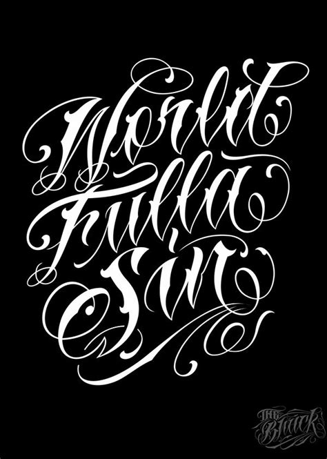 Lettering 4 on Typography Served | Tattoo lettering fonts, Tattoo lettering styles, Lettering