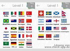 Alle Lösungen für das Flags Quiz Game mit Bildern