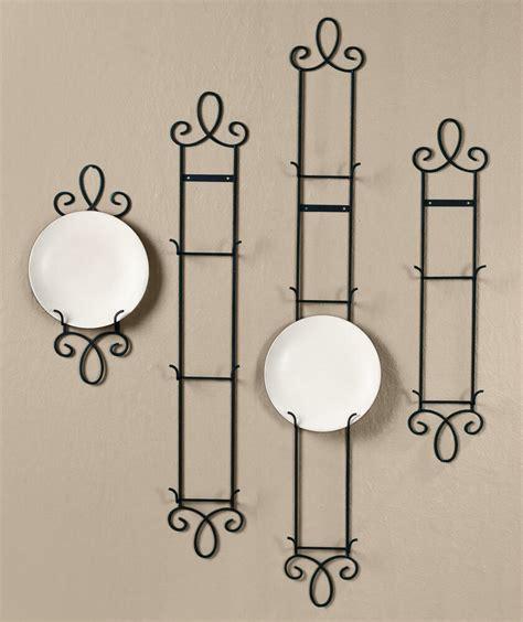 augusta black narrow vertical plate holder rack wall mount ebay