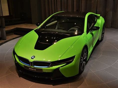 alien green bmw      world