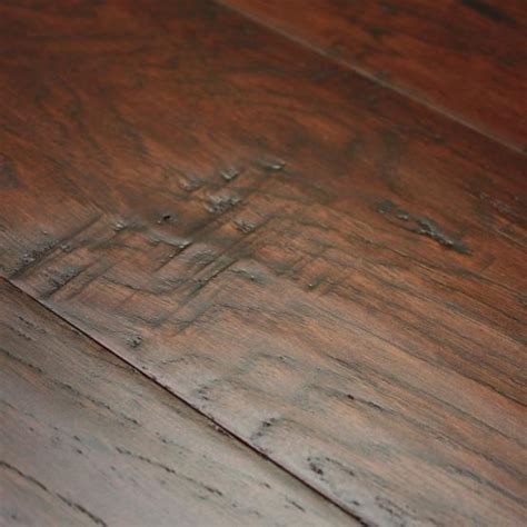peel and stick floor tile reviews hickory coffee 3 8 x 5 quot scraped engineered hardwood