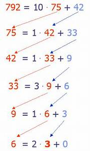 Größter Gemeinsamer Teiler Berechnen : euklidscher algorithmus ~ Themetempest.com Abrechnung