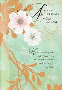 A, Beautiful, Example, Anniversary, Card, For, Parents