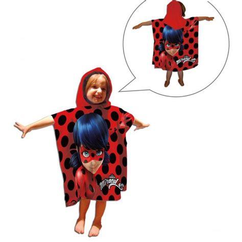 foto de Poncho LadyBug prodigiosa toalla poncho playa o piscina de