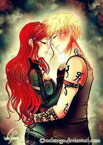 Clary and Jace by Nohongo on DeviantArt