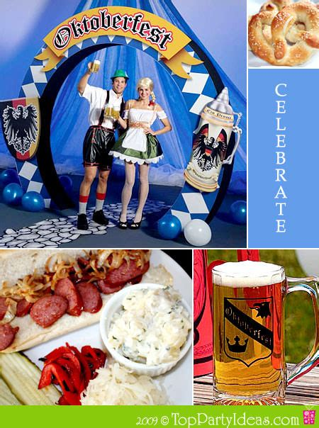 Oktoberfest Party Ideas And German Theme Party