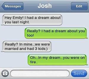 I Had a Dream about You - 7 Flirty Texts to Send Your ...