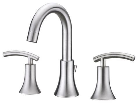Ultra Faucets-ultra Faucets Brushed Nickel Contemporary