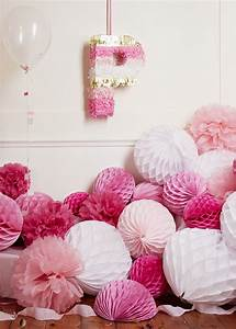 Pink party ideas from papermash | Baby Showers, Kids ...