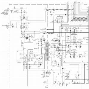 Schematic Diagram Jvc C N14210 Color Tv
