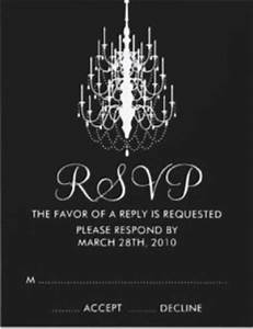 the classy woman r reader request handling tardy rsvp With wedding invitation rsvp reminder