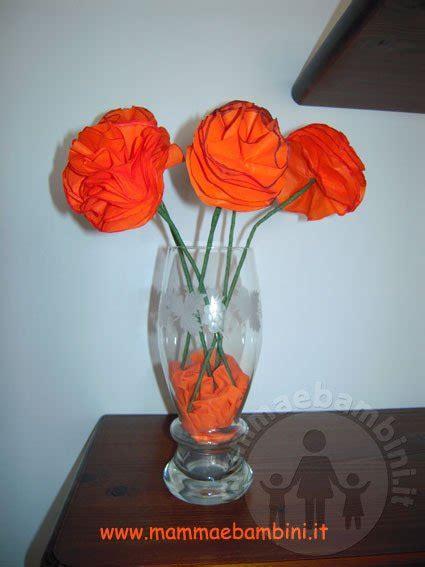 tutorial fiori di carta velina tutorial per creare fiori di carta velina mamma e bambini