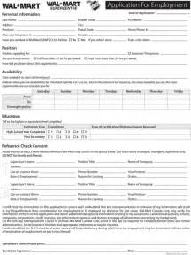 I Need A Free Resume Template Walmart Application Form For Excel Pdf And Word