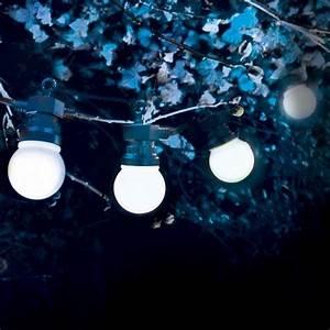 Guirlande Lumineuse Sans Prise : rallonge guirlande guinguette electrique blanche ~ Teatrodelosmanantiales.com Idées de Décoration
