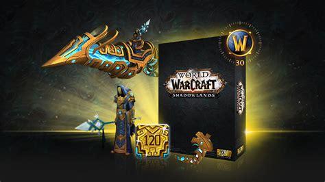world  warcraft shadowlands collectors edition